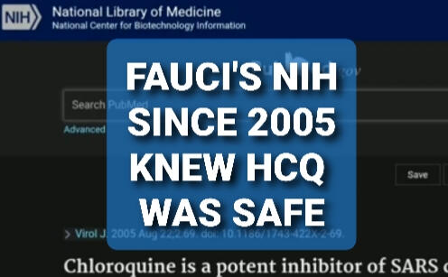 FAUCI APPROVED HCQ